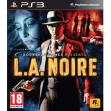 L.a. Noire Playstation 3 Ps3 (usado)