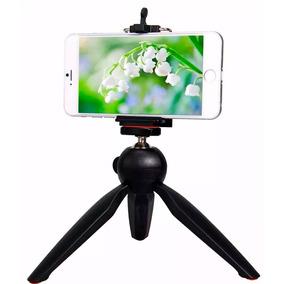 Mini Tripé Universal Câmera Digital Suporte Celular Youtuber