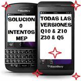 Solucion 0 Intentos Mep Blackberry Sistema Bbos4/os5/os6/os7