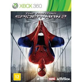 Jogo Homem Aranha Amazing Spider Man 2 Xbox 360 Em Português
