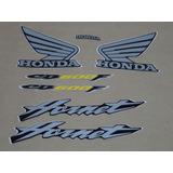Kit Adesivos Honda Hornet Cb 600f 2006 Preta 10060