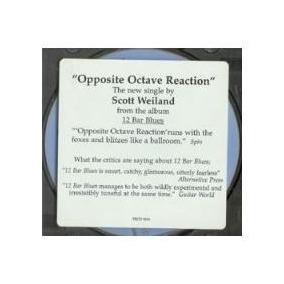 Cd Scott Weiland - Oppositive Octave ( Single Usa ) 1998