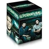Coleção Sobrenatural (as 5 Temporadas) Lacrado