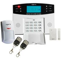 Alarme Residencial - Kit Com Sensores Sem Fio Com Discadora
