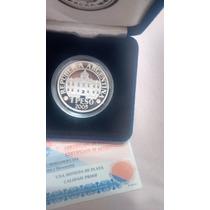 Moneda Plata 70 Aniversario Bcra- Año 2005 - Con Certificado