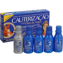 Kit Cauterização Hair Fly Com Oleo Argan