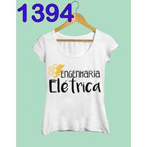 Engenharia Elétrica Curso Faculdade Profissão Camiseta Blusa
