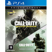 Call Of Duty Infinite Warfare Ps4 Legacy Edition Mídia Fisíc