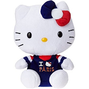 Juguete Sanrio Hello Kitty Ty Amo París Beanie Bebé
