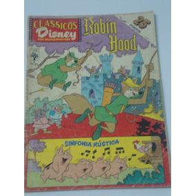 Clássicos Disney Nº 5 - Hobin Hood E Sinfonia Rústica - Raro