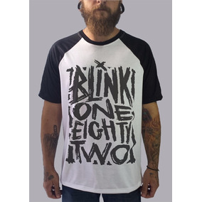Blusa Raglan Blink 182 Camisetas Moletom Bandas Punk Rock