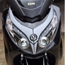 Adesivo Protetor Carenagem Farol Sym Moto Dafra Maxsym 400i