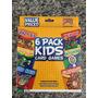 6 Juegos En 1: Cartas Infantiles Cotillón Fiesta Niños Rifas