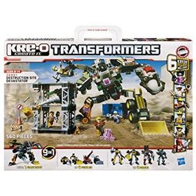 Juego Kre-o Transformers La Destrucción Del Sitio Devastato
