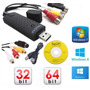 Placa De Captura Easy Cap Windows 7 8 8.1 Notebook E Pc Xbox