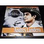 Cd Andres Landero / Una Leyenda / Discos Fuentes De Colombia
