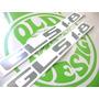 Emblema Adesivo Gls 1.8 Voyage Parati Gol Até 90 Old Design