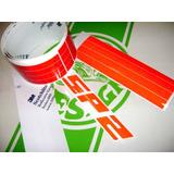 Faixa Refletiva Sp1 Sp2 3m Rubby Red Importado - Old Design