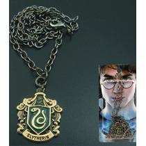 Colar Harry Potter Modelo 7 Ad Hogwarts Grifinoria Sonserina