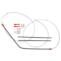 Kit Reparo Vidro Eletrico Golf Até 97 - 4 Portas Dianteiro