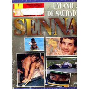 Revista Manchete - Senna 1 Ano 6/05/95 - C/poster-capa Ruim