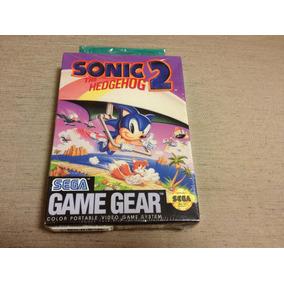 Sonic 2 The Hedgehog Sega Game Gear Lacrado P/colecao