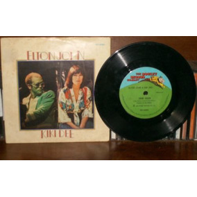 Compacto Elton John E Kiki Dee 1976