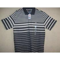Camisa Polo Ecko Listrada Plus Size Xxg 84cm X 62cm Xl