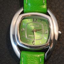 Relógio De Luxo Em Prata Maciça 925 - Design Casual, Jovem.