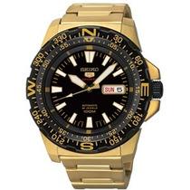 Relógio Seiko 5sports Dourado Lindo 100metros Srp548b1+frete