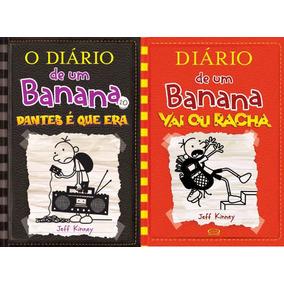 2 Livro Diário De Um Banana 10 Bons Tempos + 11 Vai Ou Racha