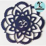 Mandala Decorativa En Mdf, Varios Colores. Budismo Yoga