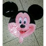 Globos Metalizados De Minnie Mickey Nvo