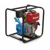 Motobomba Diesel Branco Motor 7 Hp Alta Pressão Irrigação