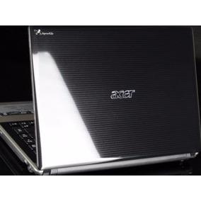 Carcaça Tampa Moldura Dobradiça Antena Webcam Acer 4745 Orig