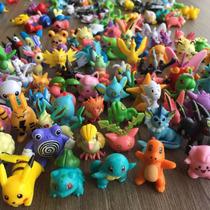 Pokemon Miniaturas Aleatórias / Sortidas Pvc Alta Qualidade