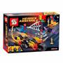 Lego Homem Aranha Motoqueiro Fantasma Duende Macabro 248 Pcs