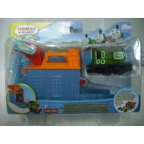 Thomas & Friends Lanzador D Locomotora Luke Fisher Price