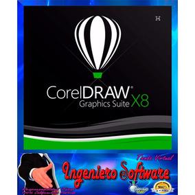 Corel Draw X8 - X7 Original Licencia Ctl -