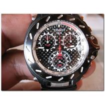 Tissot T Race Crono Quartz Bracelete Preto