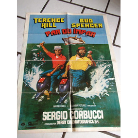 Cartaz Terence Hill Bud Spencer Par Ou Impar + 6 Lobby Cards