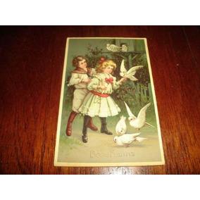 Cartão Postal Antigo - 1909 - R$ 16,00