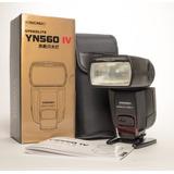 Flash Yongnuo Yn560 Iv Speedlite Profesional Canon Nikon
