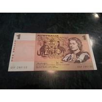 Billete Australia 1 Dolar 1977 Knight Store Exc