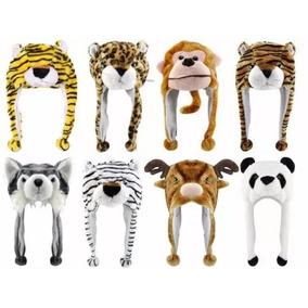 Gorros Peluches Animales Oferta Precio X 10 Uni Cada Uno