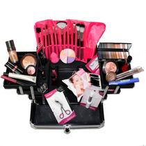 Maleta + Maquiagem Completa Original Vult Profissional