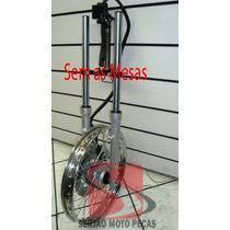 Frente Disco Completa Ybr125 Rd125 Rd135 Factor125 Serjao