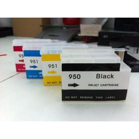Cartucho Recarregável Hp 8100 8600 Chip Full