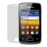Capa Gel Tpu Samsung Galaxy Y Duos S6102 + Pelicula + Frete