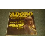 Disco Acetato De Adoro Franck Pourcel Y Su Gran Orquesta